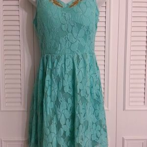 #77WD Color Mint Dress NEW with tag